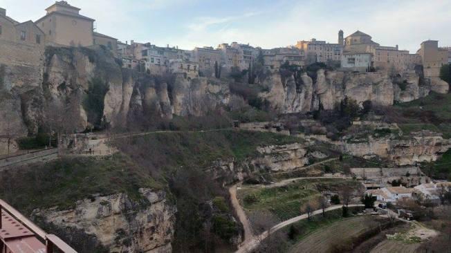 Vista panorámica de Cuenca - Casas Colgadas