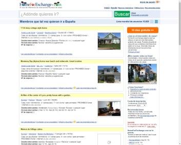Intercambios de casas para viajes - Home for exchange