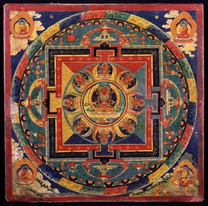 Mandalas como instrumentos decorativos