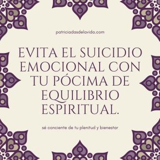 evita el suicidio emocional con una pócima de equilibrio-patriciadasdelavida